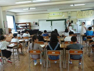 7月9日(火) 栄養教室(4年)