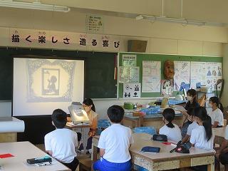 7月2日(木)・3日(金) 切り絵教室